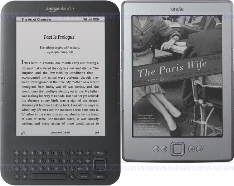 kindle3 versus kindle4