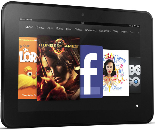 The new Kindle Fire HD